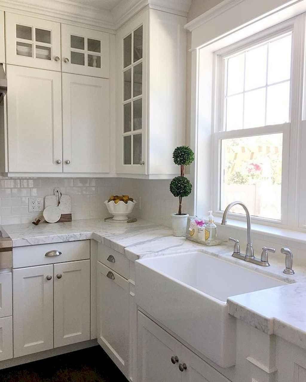 70 Modern Farmhouse Kitchen Sink Decor Ideas Kitchen