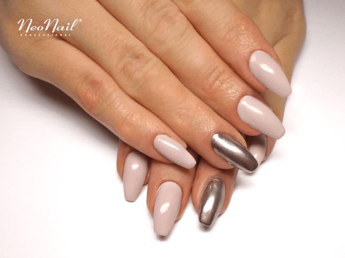 Stylizacja Z Pylkiem Chrome Effect Paznokcie Hybrydowe Neonail Nails Manicure Nail Art