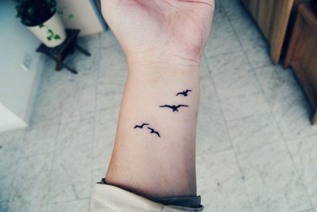 Bird Tattoos On Wrist Simple Wrist Tattoos Wrist Tattoos For Guys Wrist Tattoos For Women