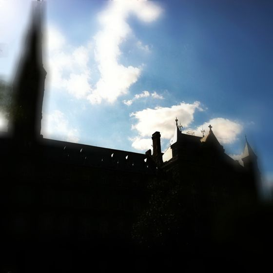 Gorgeous day at Georgetown