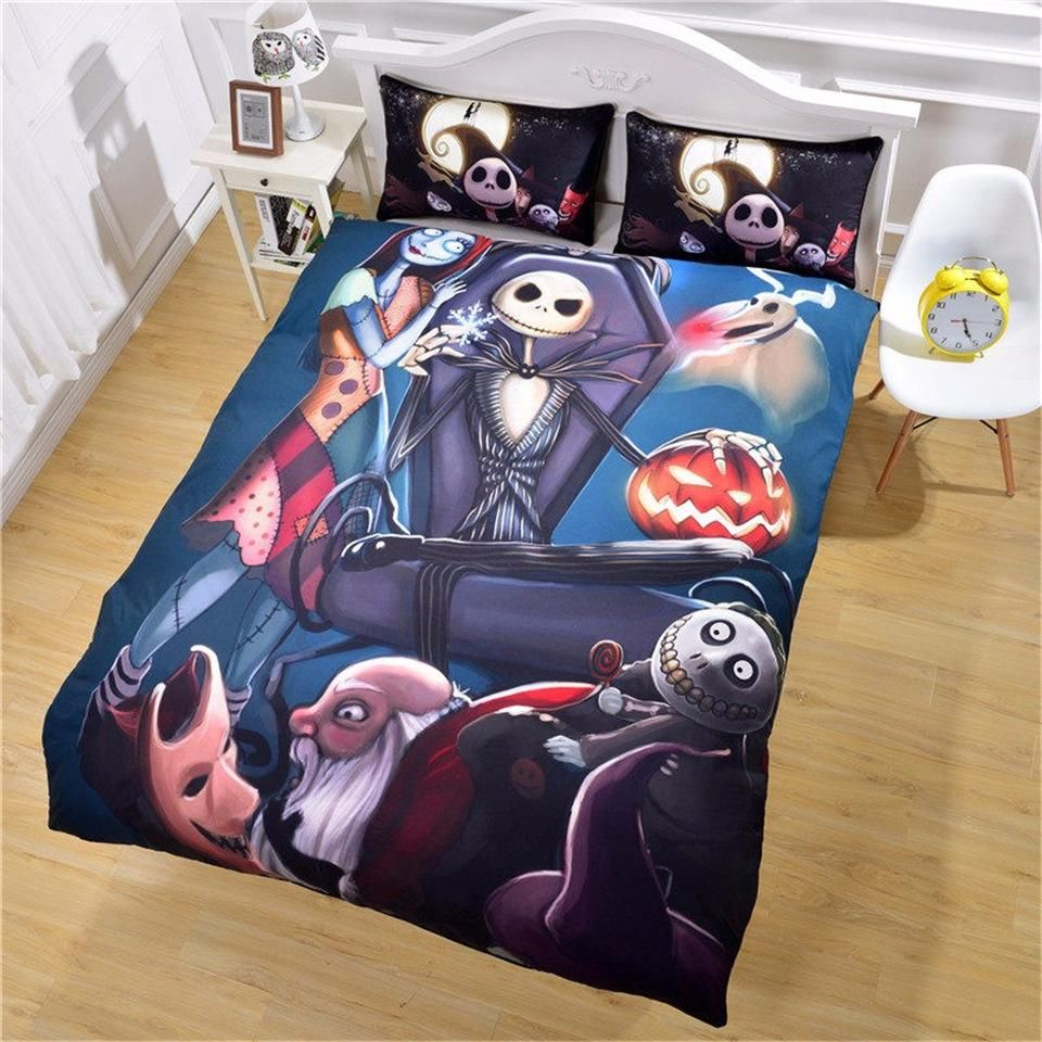 This Is A Great Hit New Design Nightm Its On Sale Http Jagmohansabharwal Myshop Christmas Duvet Cover Christmas Duvet Nightmare Before Christmas Bedding