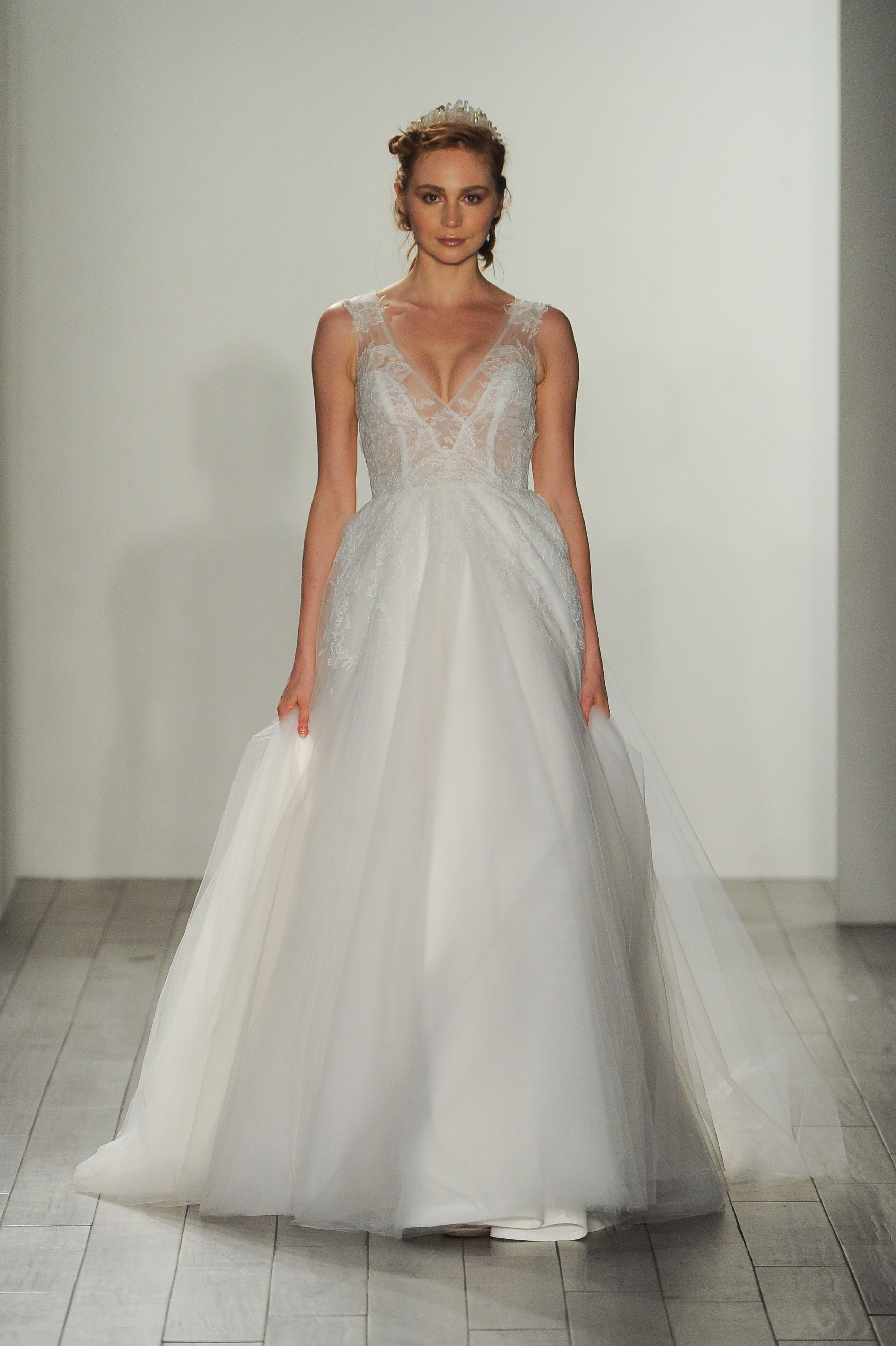 Stunning wedding dresses  These Are the Prettiest Wedding Dresses from Fall  Bridal Week