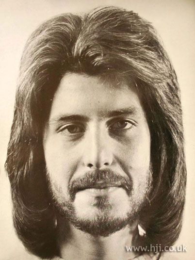 Pin By Kathy Blakenley On Vintage Hair Cosmetics And Etiquette 70s Hair Long Hair Styles Men Mustache And Goatee