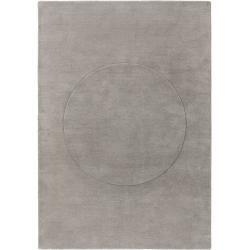 Photo of benuta Trends Wollteppich Bent Circle Grau 160×230 cm – Naturfaserteppich aus Wollebenuta.de