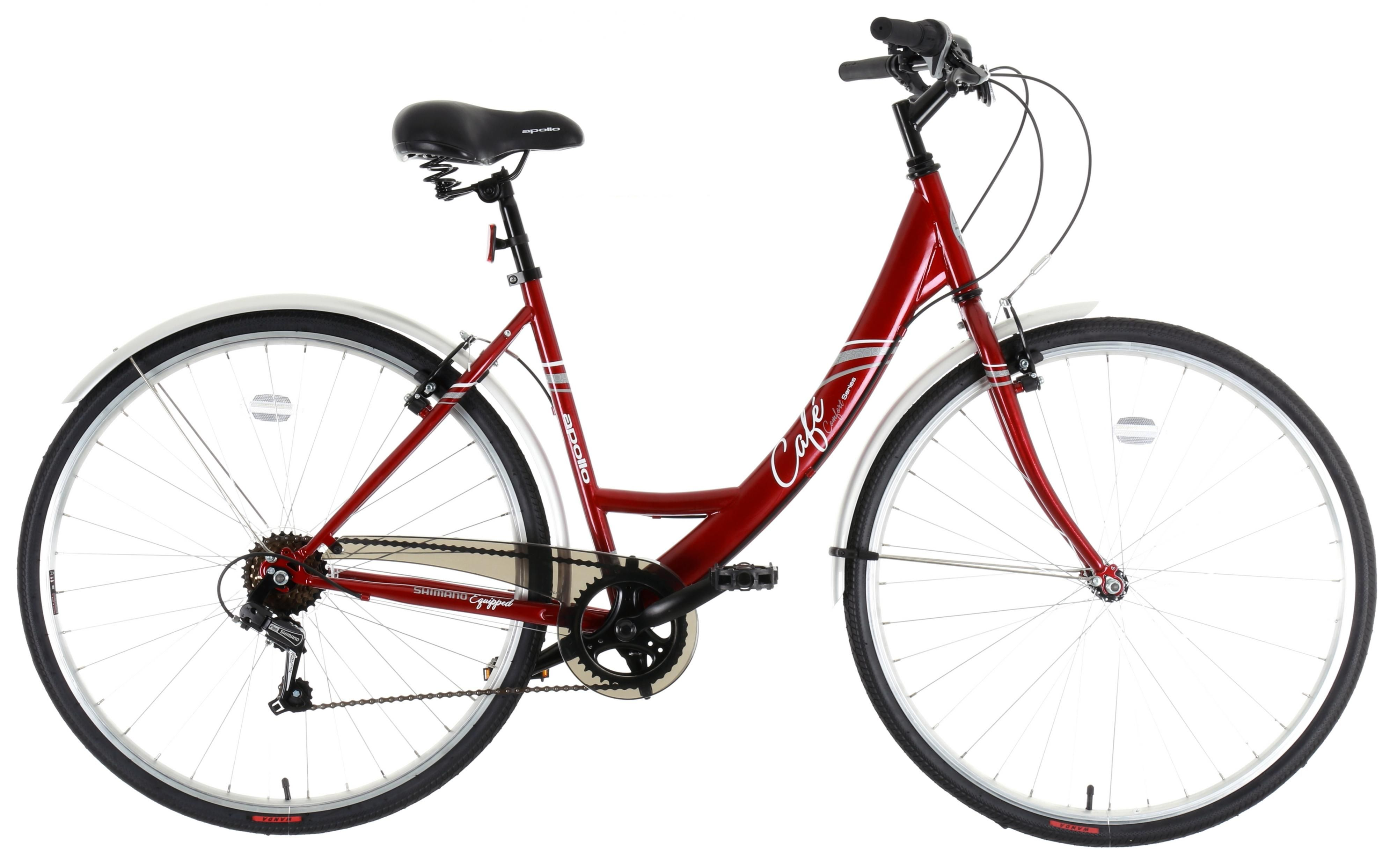 The Apollo Cafe Womens Hybrid Bike is the perfect choice for