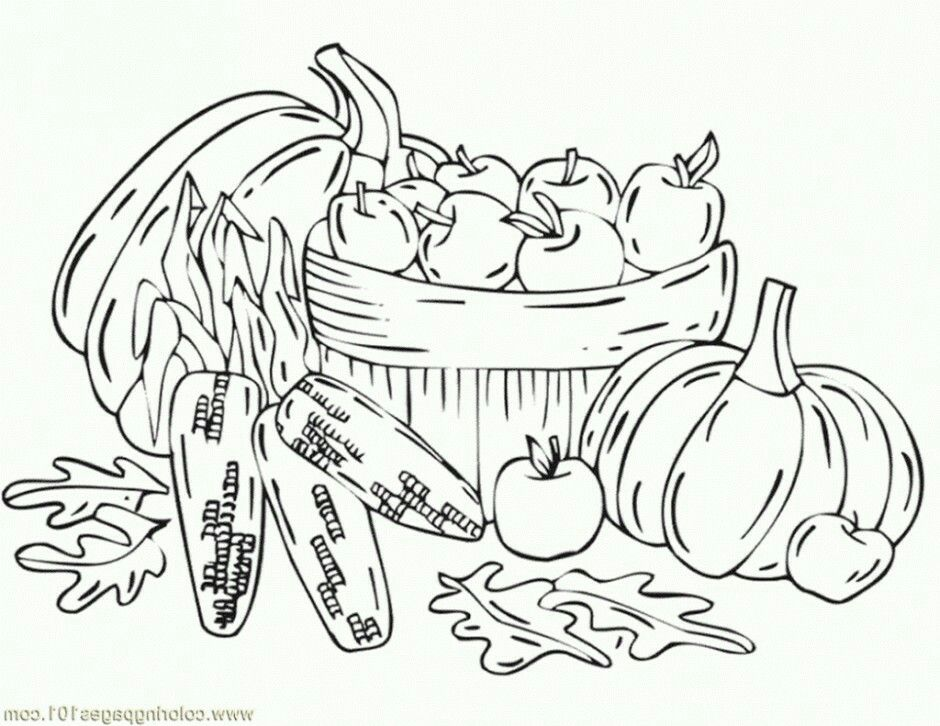Pin By Lil Explorers Toddler2 On Fall Theme Vegetable Coloring Pages Coloring Pages Winter Flower Coloring Pages