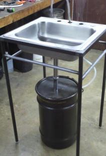 Parts Washer Diy Garage Shop Storage Garage Tools