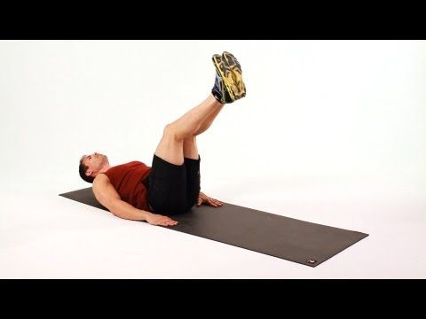 how to do an ab reverse curl  home ab workout for men