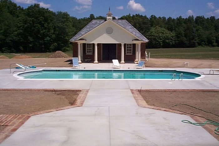 With Pool House   Richmond, Virginiau0027s Best In Custom Pools And Outdoor  Furniture: JoPa