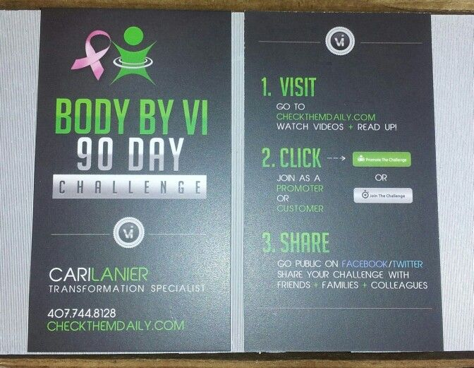 Just got my new visalus business cards for the 90 day body by vi just got my new visalus business cards for the 90 day body by vi challenge reheart Choice Image