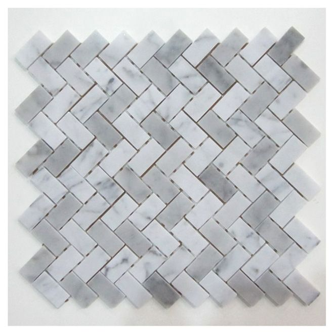 Rona Backsplash Camber Marble Mosaic