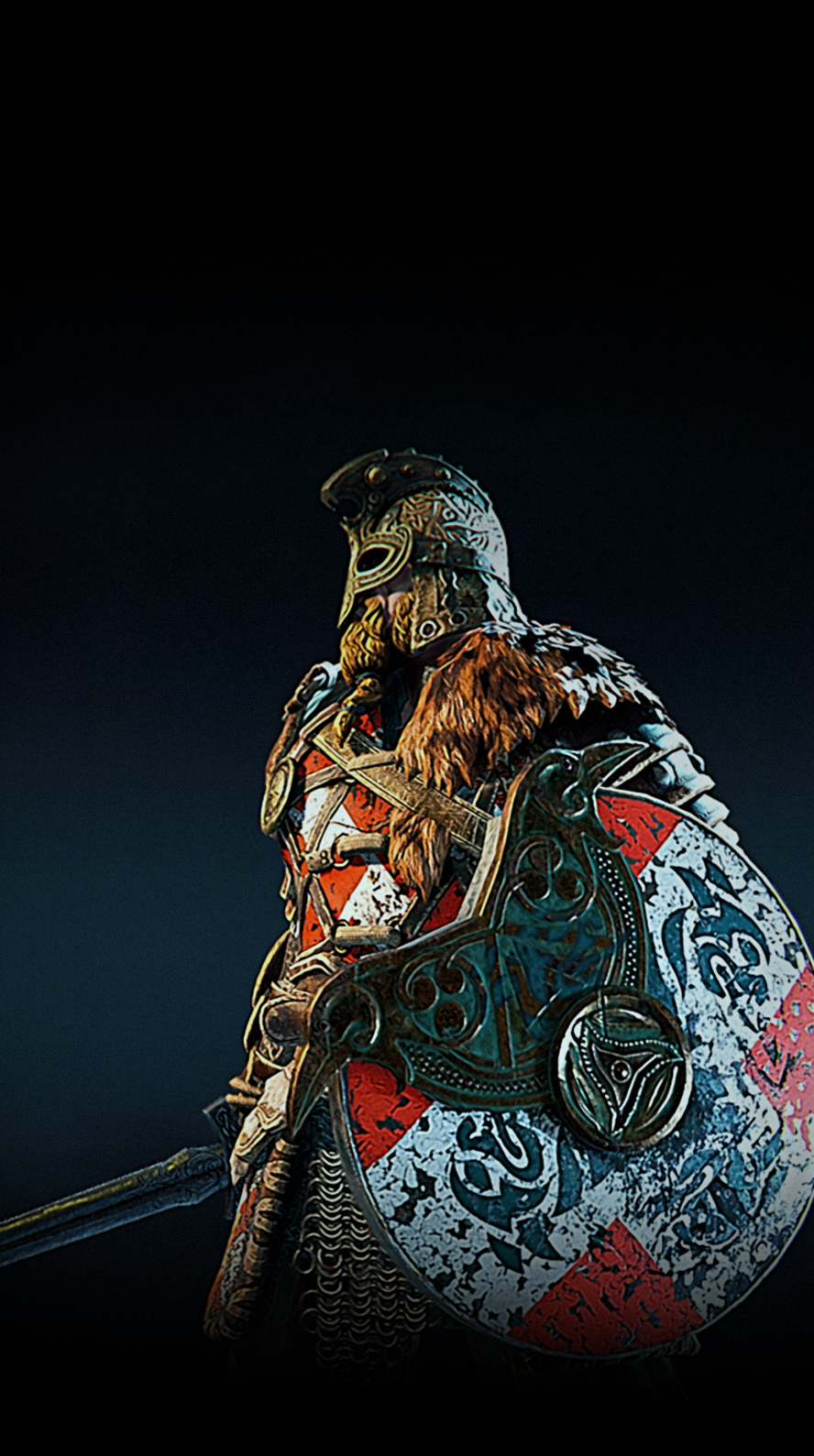 Based On Ubisoft For Honor Game My Fan Art Wallpaper For Iphone 6s Warlord Rules For Honor Viking Viking Character Viking Art