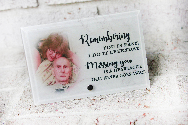 Custom Memorial Photo Gifts Ideas