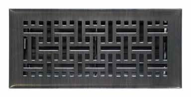 Supreme Oil Rubbed Bronze Wicker Floor Diffuser 4 X 10 Floor Registers Oil Rubbed Bronze Wicker
