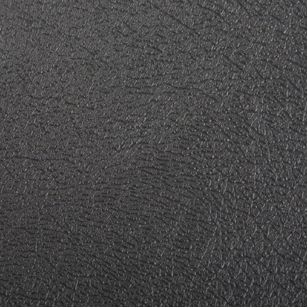 Hdx Take Home Sample Textured Midnight Black Vinyl Universal Flooring 8 In X 10 In Black Textured In 2020 Black Vinyl Flooring Vinyl Sheet Flooring Black Vinyl