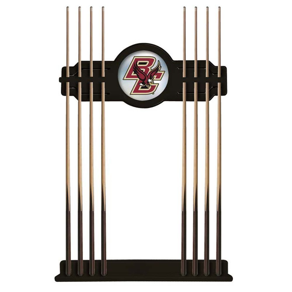 Boston College Eagles 2 Piece Billiard Cue Rack Holland
