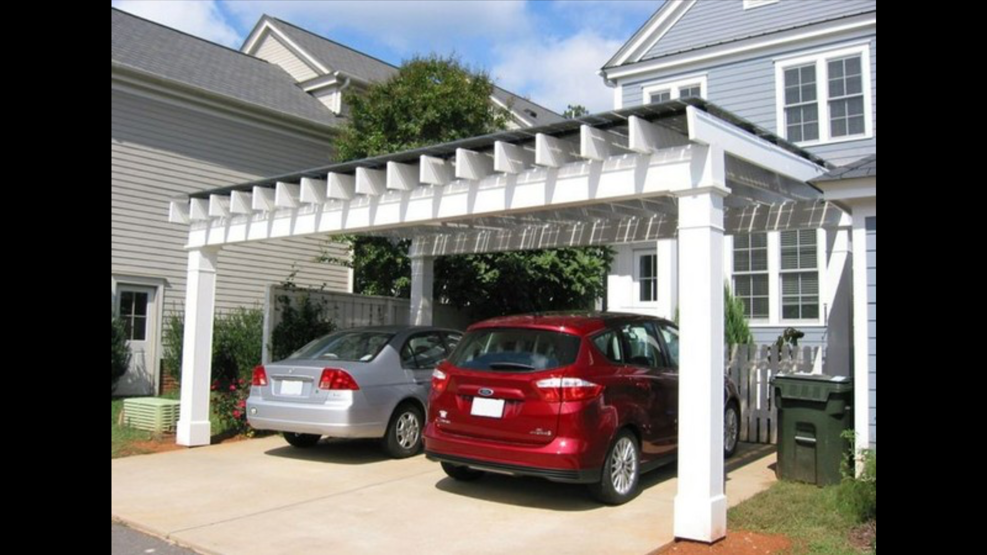 Carport Design Is Good Ideas To Beautify Facade, Bungalow And
