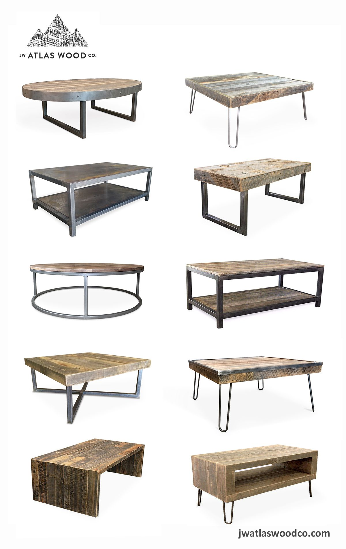 Coffee Table Ideas From Jw Atlas Wood Co Mid Century Contemporary Industrial Rustic Modern Coffee Tables Co Contemporary Coffee Table Modern Coffee Tables Convertible Coffee Table [ 1902 x 1200 Pixel ]
