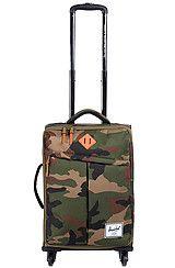 Herschel Supply The Highland Travel Bag in Woodland Camo   Orange ... 92ce4bc6c3ad6