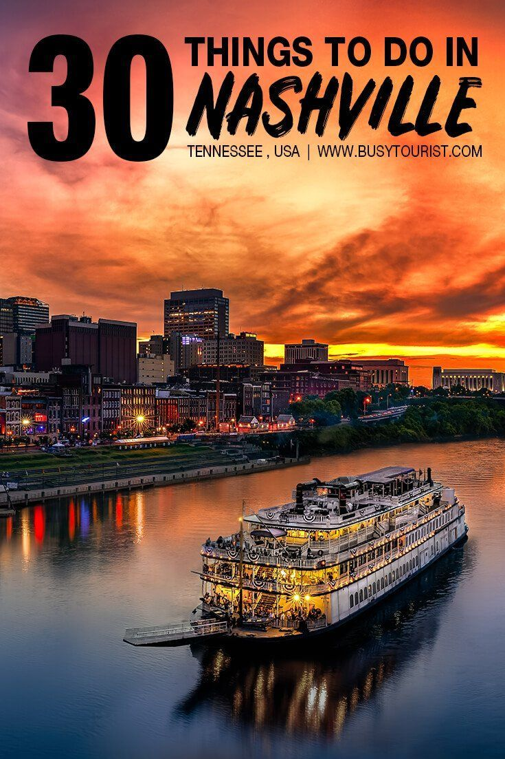 Traveling to Nashville, TN and wondering what to do? This travel guide will show you the top attractions, best activities, places to visit  fun things to do in Nashville, Tennessee. Start planning your itinerary  bucket list now! #nashville #nashvilletn #tennessee #tennesseevacation #usatravel #usatrip #usaroadtrip #travelusa #ustraveldestinations #ustravel #vacationusa #americatravel