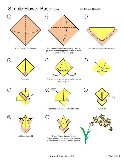 Orquidea origami flower pinterest origami paper folding and craft orquidea mightylinksfo