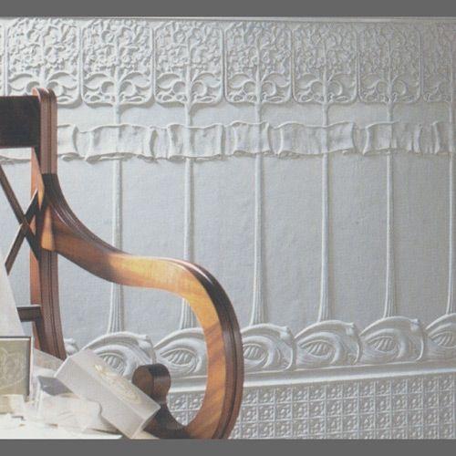 Art Nouveau Lincrusta Dado Paneling | Wallpaper ...