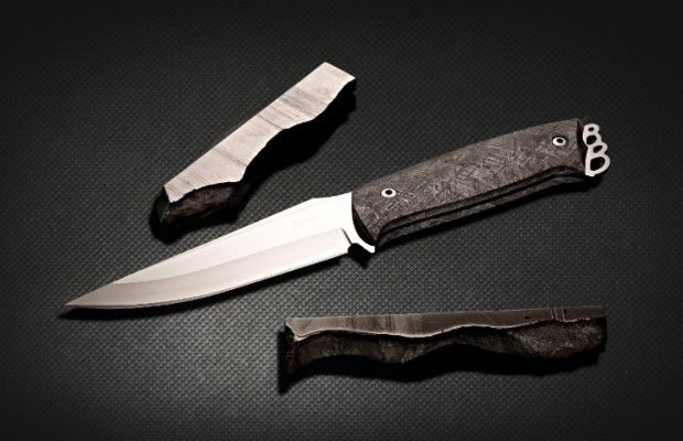 Sandrin Makes the World's First Tungsten Carbide Knives