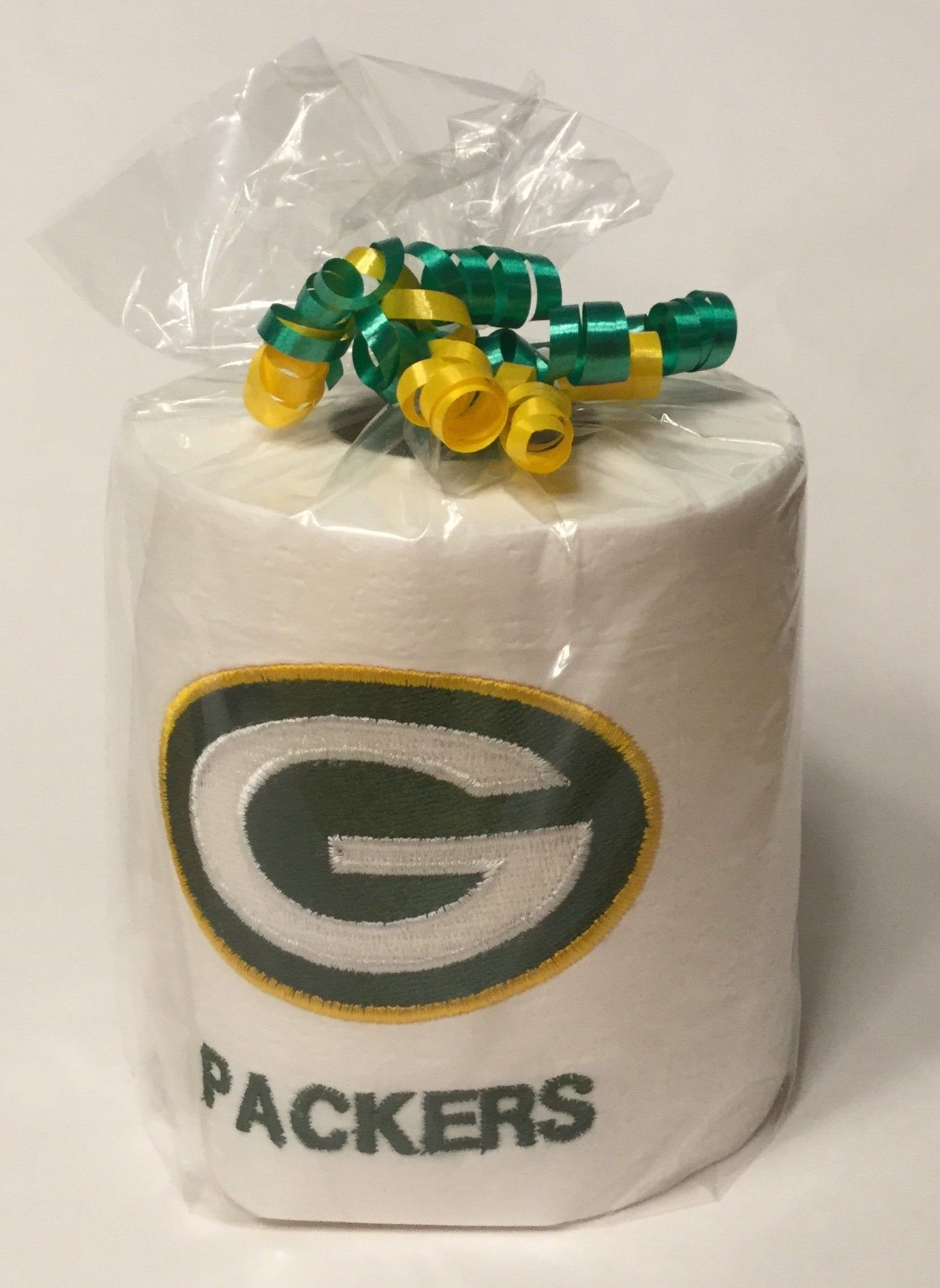 Green Bay Packers Toilet Paper Embroidered Toilet Paper Great