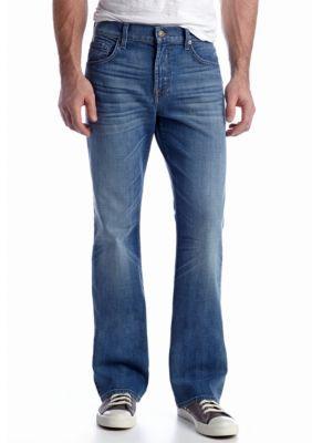 7 For All Mankind  Brett Air Blue Jeans