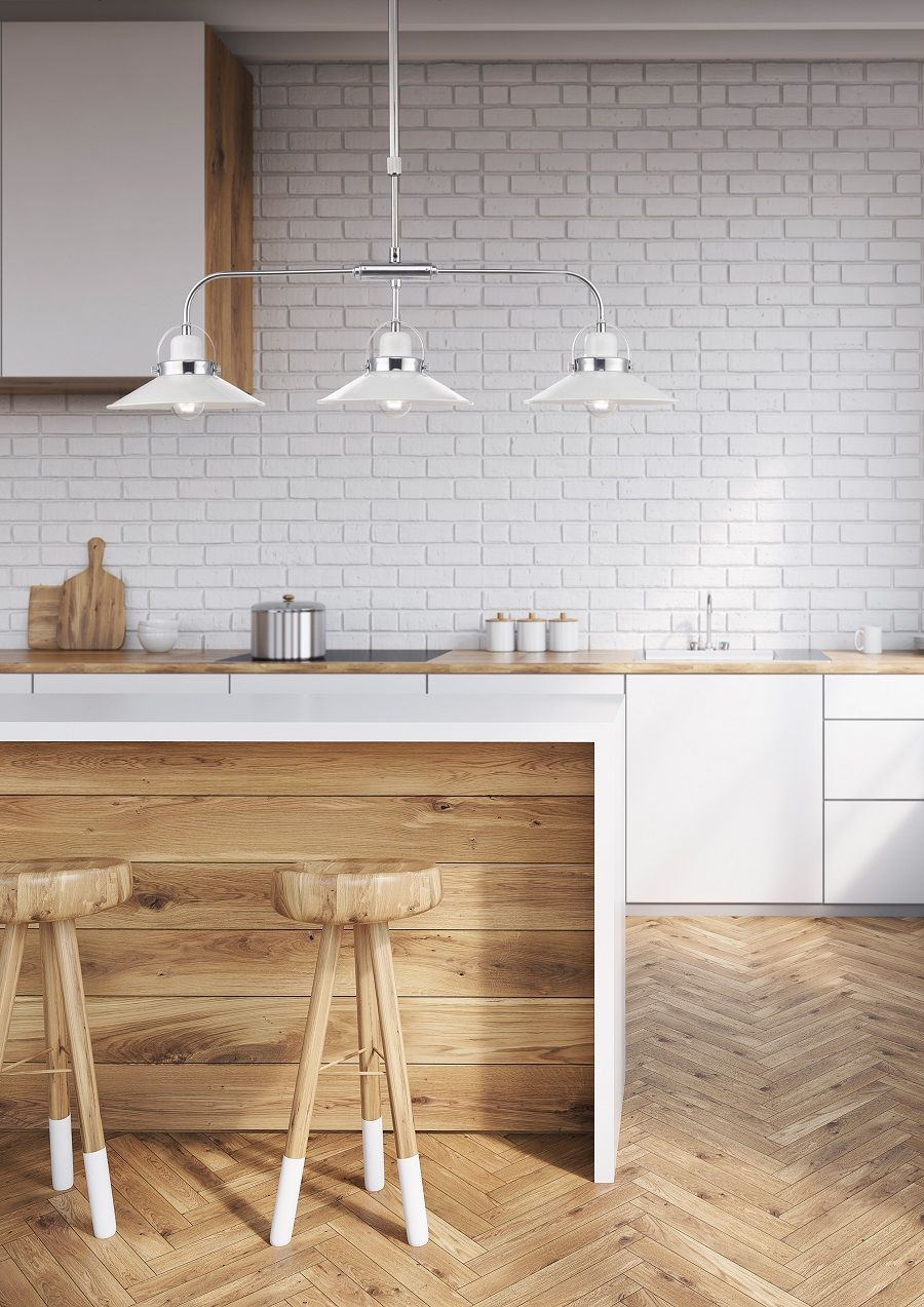 Great Ways For Lighting A Kitchen: New Ways To Use The Humble Pendant Light