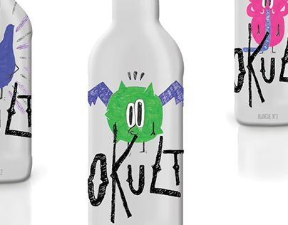 """Check out new work on my @Behance portfolio: """"Beer Identity and packaging : Okult brand"""" http://be.net/gallery/43482669/Beer-Identity-and-packaging-Okult-brand"""