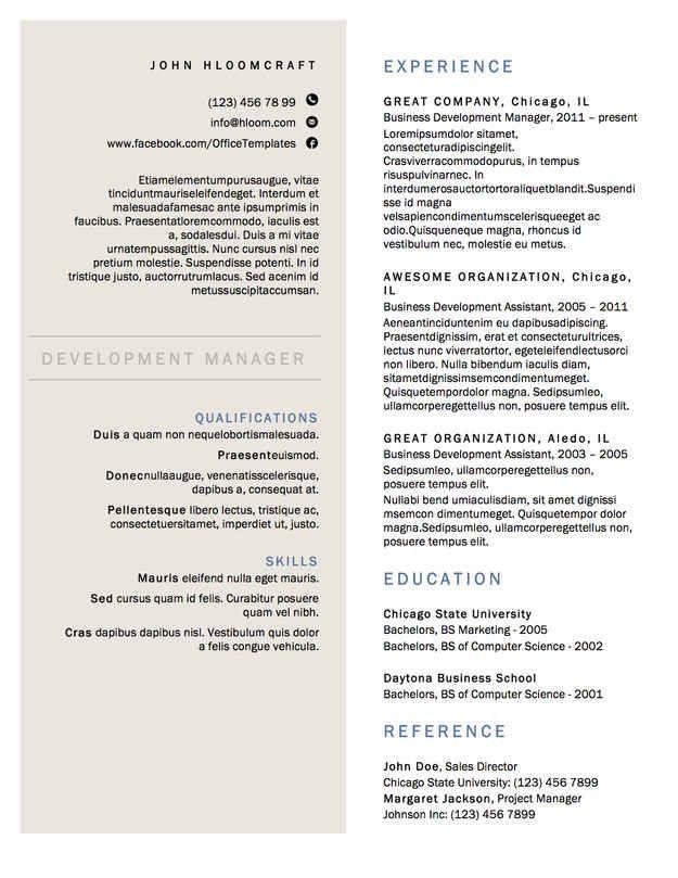 21 Free Resume Designs Every Job Hunter Should Have Resume Design Free Resume Template Free Resume Design Template