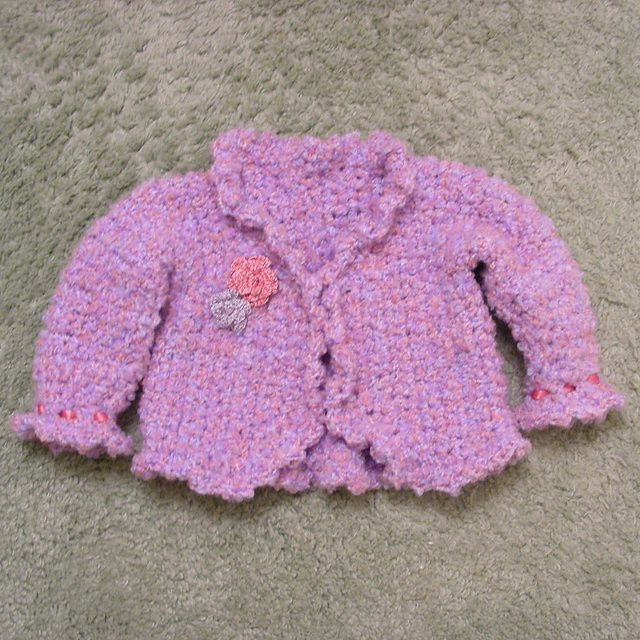 16d43339f352 Ravelry  Antique Lace Jacket and Blanket pattern by Bernat Design ...