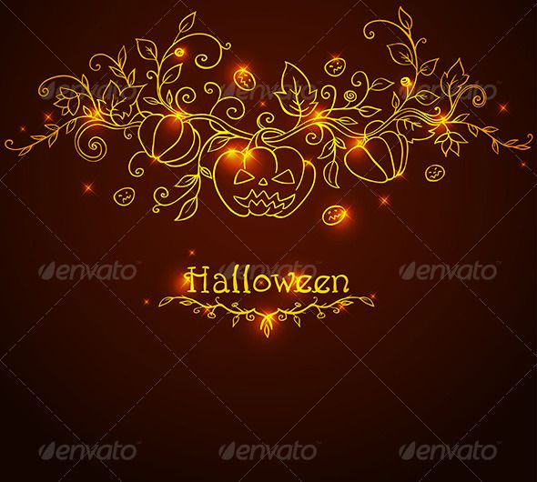 Hand Drawn Halloween Background Halloween backgrounds, Vector file - halloween backdrop