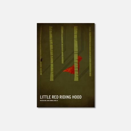 Little Red Riding Hood – A4 from Square Inch Design - R149