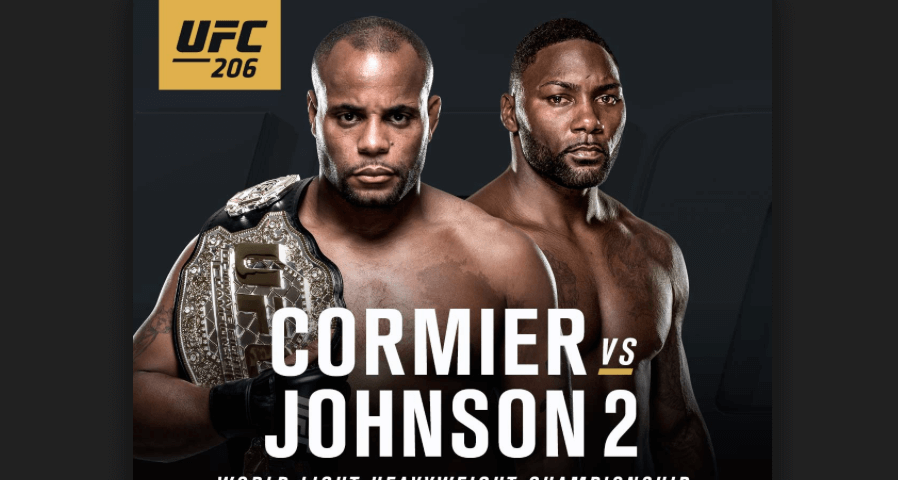 Daily Fantasy Draftkings Mma Picks For Ufc 206 12 10 16 Ufc Ufc Live Mma