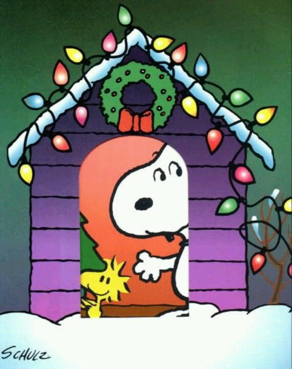 Snoopy Christmas ~ Charles Schulz | Snoopy | Pinterest | Snoopy ...