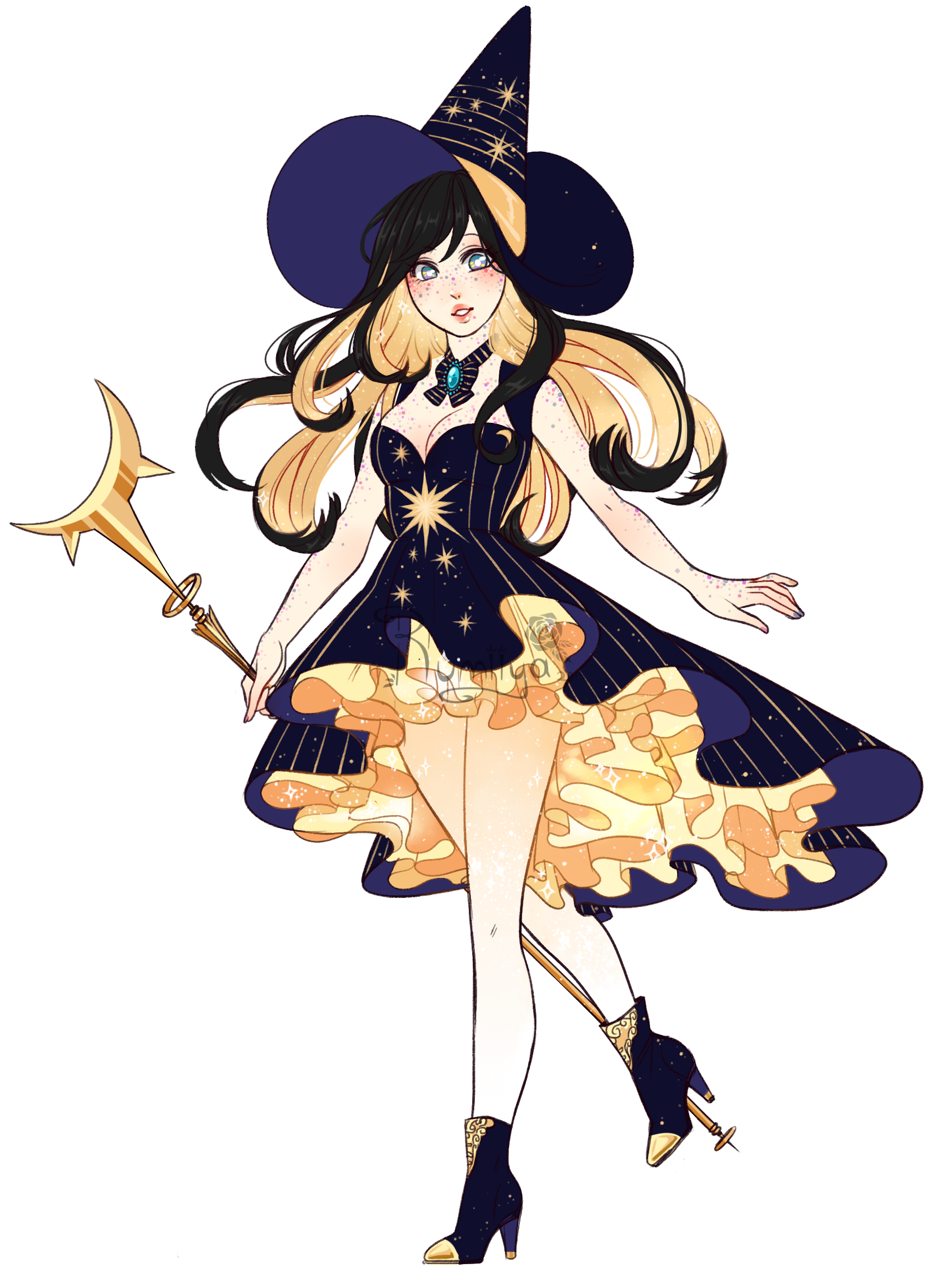 Albirea on Toyhouse | Witch art | Witch art, Witch drawing, Anime art