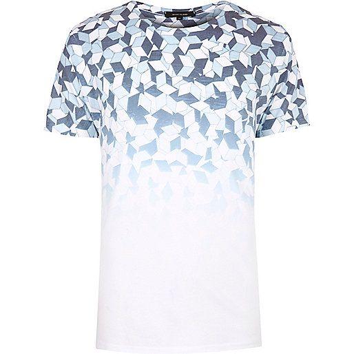 Men Sale | River Island. Vest MenT Shirt VestGeometric PrintsPrint ...