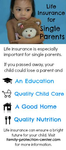 Good Life Insurance Is Especially Important For Single Parents. See The Graphic  To Find Out Why. Www.family Protection Center.com