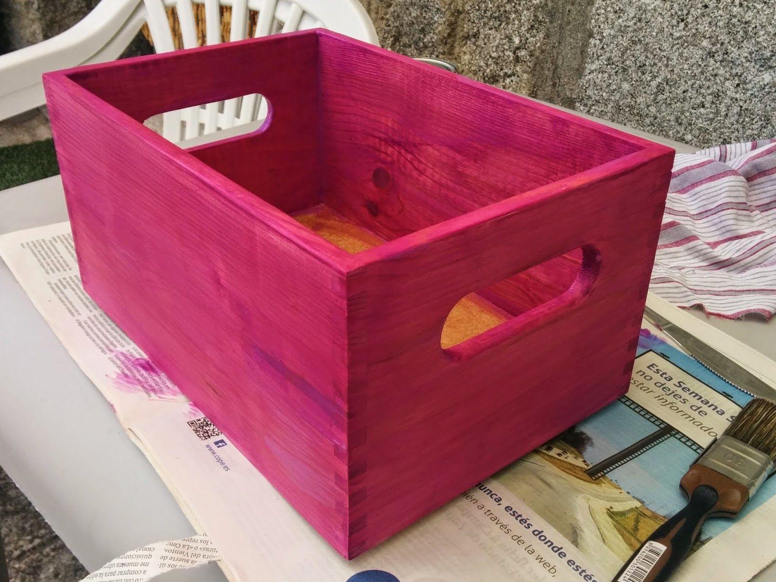 Pichi S Soup Pintar Cajas De Madera Iii Cualquier Excusa Es  ~ Leroy Merlin Cajas Organizadoras