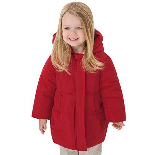 f01c6ec35 Little Youngster Girls Hooded Winter Dress Coat Parka Jacket