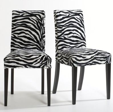 Chaises z bre home furniture pinterest for Chaise zebre