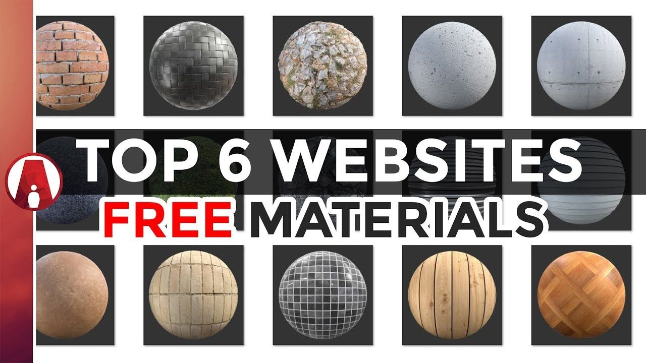 Top 6 Websites for FREE Textures and Materials (PBR