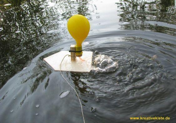 1 luftballon boot mit kindern selber bauen kati. Black Bedroom Furniture Sets. Home Design Ideas