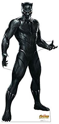 25aca9a8 Amazon.com: Black Panther - Marvel's Avengers: Infinity War (2018 Film) -  Advanced Graphics Life Size Cardboard Cutout Standup: Home & Kitchen
