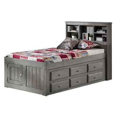 Best Birch Lane™ Heritage Giulia Twin Mate S Bed With Drawers 640 x 480