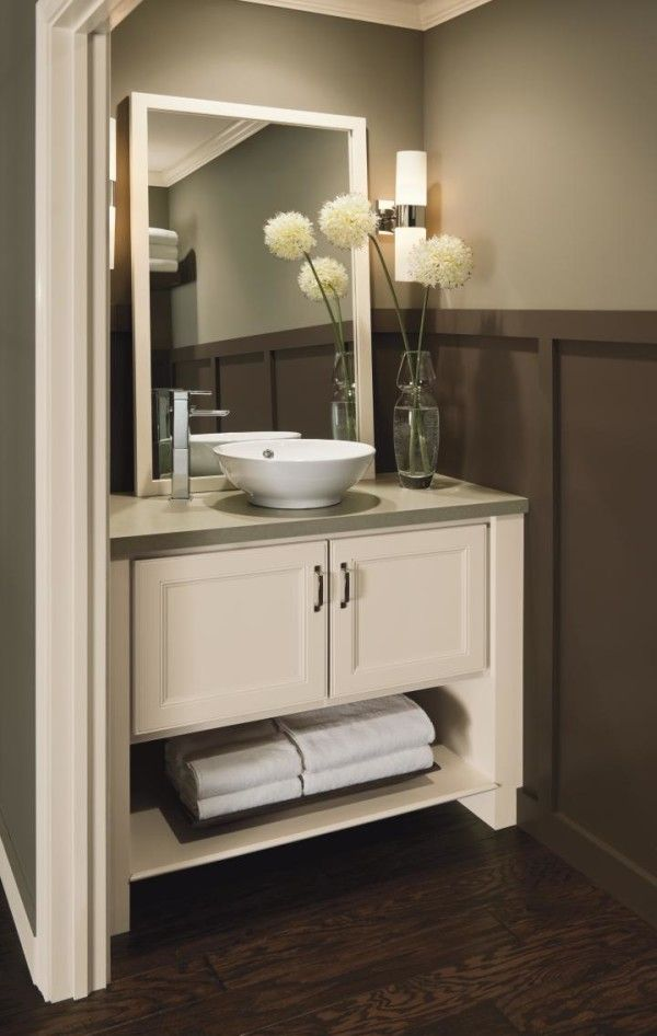 Photo Of  Relaxing Bath Spaces With Wooden Bathroom Cabinets