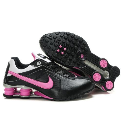 baf0f9a01ed Nike Shox R4 301-M Black Pink White Women Shoes  79.59