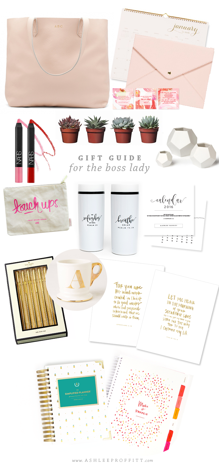 Gift Guide For The Boss Lady By Ashlee Proffitt Boss